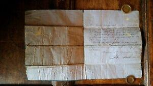 1871 MANUSCRIPT APPRENTICE REFERENCE SHIPS CARPENTER JOHN DUTHIE & SONS ABERDEEN
