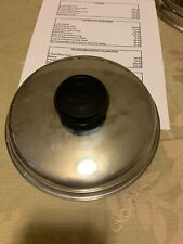 """Used LIFETIME COOKWARE WEST BEND STAINLESS STEEL Cover. Lid. 8 1/8"""""""