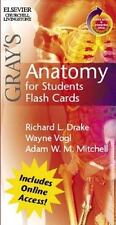 Gray's Anatomy: Gray's Anatomy for Students Flash Cards by Richard L. Drake,...