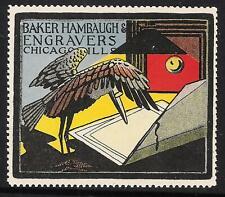 Baker Hambaugh Engravers - Chicago IL - Stork