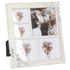 Vintage Style Ornate Cream Metal Multi Photo Frame New Boxed 64805
