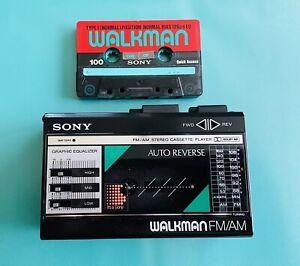 Sony Walkman WM-F18 Refurbished works great Dolby NR Auto Reverse