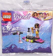 Lego Friends Promo polybag 30205 estrella pop alfombra roja Andrea escenario rar nuevo