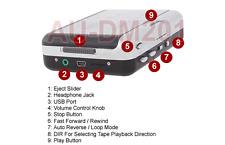 Cassette Tape To USB Digital Audio MP3 CD Converter -  OGG MP3 WAV Support