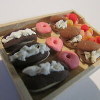 Tray ~ with ASSORTED CAKES ~ Doll House Miniature ~ 1/12th scale
