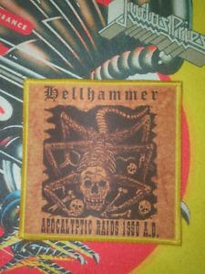 Hellhammer Patch Bunt Border Black Metal 666