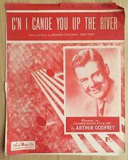 Música de la hoja: C 'n Me canoa que el río-Arthur Godfrey #62
