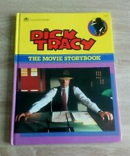 Dick Tracy The Movie Storybook Vintage Film Hardback (1990)
