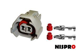 Subaru Denso STI V5/V6 injector replacement wiring plug and pins x1