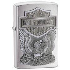 Zippo Harley-Davidson Eagle with Logo Emblem Pocket Lighter