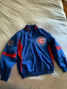 Chicago Cubs Team Issued Jacket XL Worn by Jeff Stevens