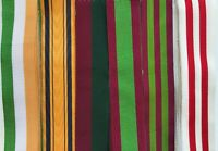 """Full Size British Military Medal Ribbons VICTORIAN C19th, 6"""" lengths  *[VIC1]"""