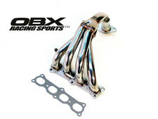 OBX Stainless STEEL Header Fits 99 To 04 Mazda Protege/ MX3 ZM-DE 1.6/1.8L