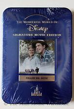 Boy Scouts Wonderful World of Disney FOLLOW ME BOYS! on DVD Collector's Blue Tin