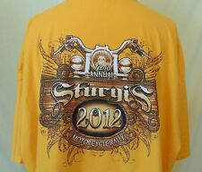 Mens size 5XL Sturgis 72nd Annual Motorcycle Ralley 2012