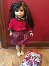 Retired American Girl Doll Grace Thomas 2015 Girl Of The Year And Paperback Book