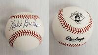 Nelson Nellie Briles Single Signed Rawlings Pittsburgh Pirates Logo Baseball