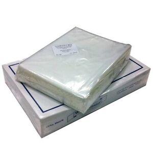 CLEAR PLASTIC POLYTHENE BAGS HEAVY DUTY 500 GAUGE