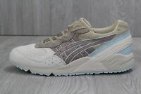29 New Asics Gel-Sight Mens Running Shoes Taupe Light Blue 9 11 11.5  H711L-1212