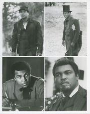 Muhammad Ali original 8x10 photo 4 images on one Freedom Road 1979 TV Movie