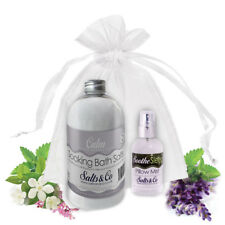 CALM & SOOTHE – AROMATHERAPY BATH SALTS & PILLOW SPRAY GIFT SET