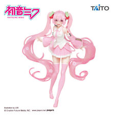 Sakura Miku Figure illustrations drawn ver. HATSUNE MIKU TAITO Anime From JAPAN