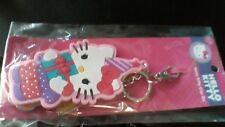 Hello Kitty happy birthday Backpack Clip On Key Chain Charms Pom-Poms