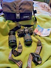 Minolta X-700 MPS 35mm Film SLR Camera/Lens/Bag UNTESTED