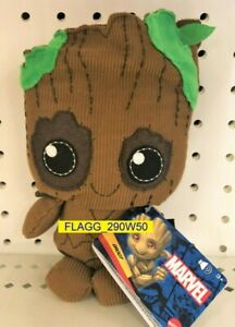 """MARVEL 7"""" Plush Figure With Sound GROOT Guardians Of The Galaxy MATTEL New 2021"""