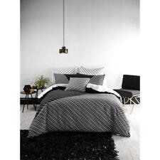 Deco Linen House Traverse Queen Bed Size Duvet Doona Quilt Cover Set