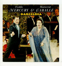 "FREDDIE MERCURY & MONTSERRAT CABALLE' : Barcelona - 7"" GERMANY 1987"