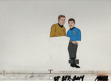 Star Trek Original Production Animation Cel - Kirk and McCoy