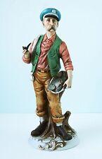 Porcelain Figure of a Fisherman