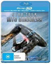 Star Trek Into Darkness 3D : NEW 2D & 3D Blu ray