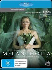 Melancholia (2011) Kirsten Dunst, Charlotte Gainsbourg -Blu-Ray - NEW - Region B