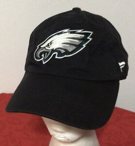 Philadelphia Eagles NFL ProLine Fanatics Adult Slouch Black Hat Baseball Cap NEW