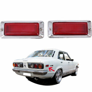 For 1971-1978 Mazda Rx3 Rx-3 818 Rx4 929 Rear Side Marker Lamp light Red Rotary