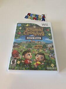 Animal Crossing: City Folk Nintendo Wii 2008 BRAND NEW Factory Sealed VGA Ready
