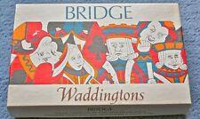Waddingtons Bridge Vintage Card Games