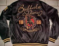 Buffalo Soldiers 1886 United States Army Houston TX Museum Black Jacket XL New