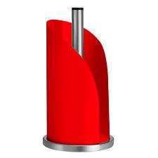 100% Genuine! Avanti Paper Towel Holder Organiser Red! Rrp $46.95!