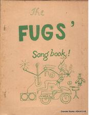 Ed Sanders - Fugs' Songbook!, 1968, Music, Beat Lit., Counterculture