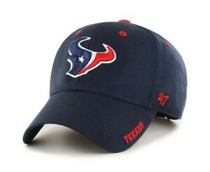 Houston Texans adjustable Hat Cap New nwt 47 Brand NFL blue red