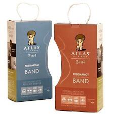 Atlas 2-in-1 Pregnancy & Postpartum Band Combo Pack Lavender Meduim/Large