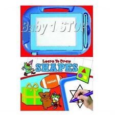 Aprende a Draw FORMAS LIBRO DE CARTÓN & Etch Bosquejo Cuentos Infantil 3 en 1