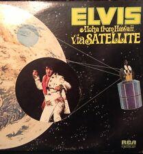 Elvis Aloha From Hawaii Via Satellite vinyl record 2 Record Set 33 LP Vintage