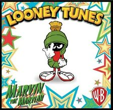 "MARVIN THE MARTIAN FRIDGE MAGNET-2, LOGO # 8. 4"" X 4"". LOONEY TUNES....FREE SHIP"