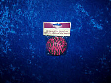 CELEBRATE IT HOT PINK ZEBRA STRIPE BAKING CUPS CUPCAKE LINERS 75 COUNT NEW!!!!!!