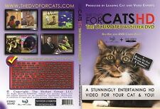 DVD FOR CATS, THE: The Ultimate Cat Sitter DVD (BluRay Disc and DVD Combo Pack)