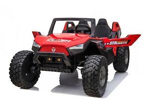 24v 400w XXL DUNE RACER KIDS RIDE ON CAR BUGGY ATV UTV 4X4 RED OITEK